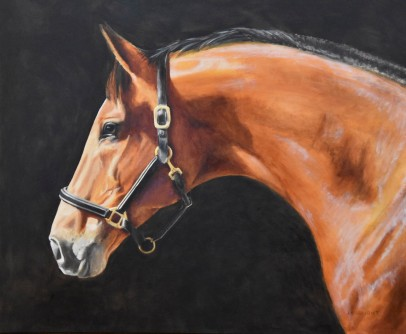 """Fallon"" Private Commission 30 x 36"